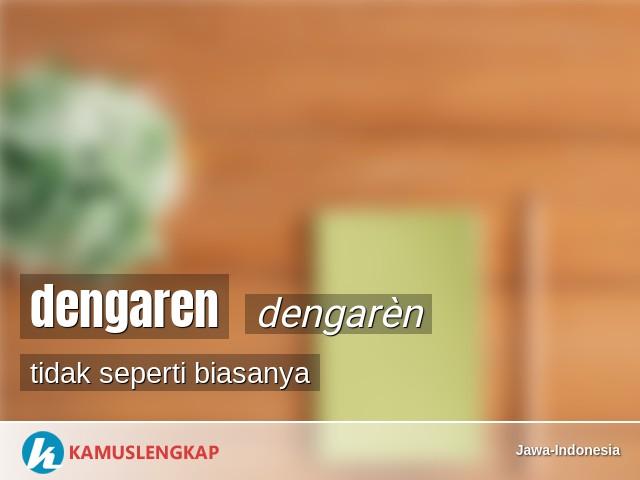 Translate Jawa Krama Ke Ngoko Alus - Arial Viral