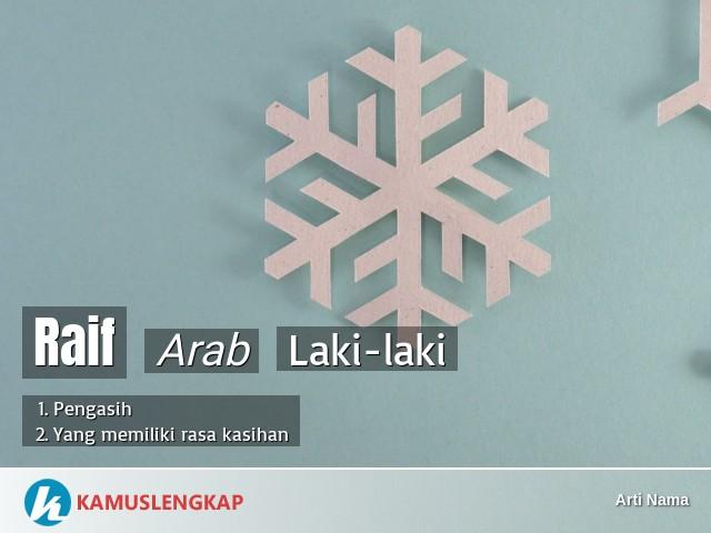 Arti Nama Raif Dalam Islam   mmaudit